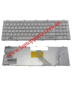 Fujitsu Lifebook A531 AH530 AH531 NH751 Replacement Laptop Keyboard (White)
