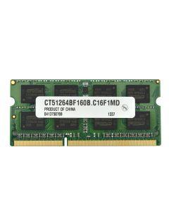 Lenovo Y570 Laptop (IdeaPad) 0862MRM SAM M471B5273CH0-CH9 DDR3 1333 4GBRAM 11011934