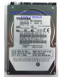 TOSHIBA Replacement Laptop MK1032GSX HDD2D30  Hard Disk Drive NEW