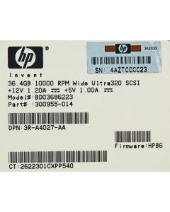 HP 36.4 GB SCSI Hard Disk Drive HDD P4461-63001 NEW
