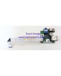 Dell Inspiron LW60 Laptop Replacement USB Board and Video Sub Connector Board W/ Cable 24524 - USED